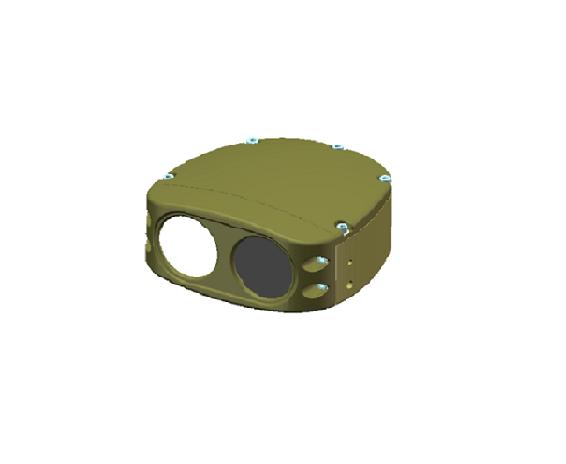 FX-H617-W19 Bi-spectrum Rotorcraft Camera RS232 two-channel SDI video output